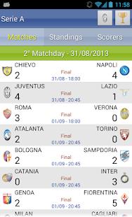 Italian Soccer 2016/2017 Screenshot 24