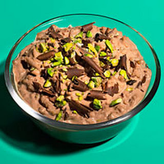 Chocolaty Rice Pudding.
