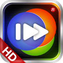 100tv HD player icon