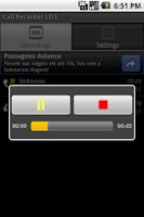 Screenshot of Call Recorder LITE