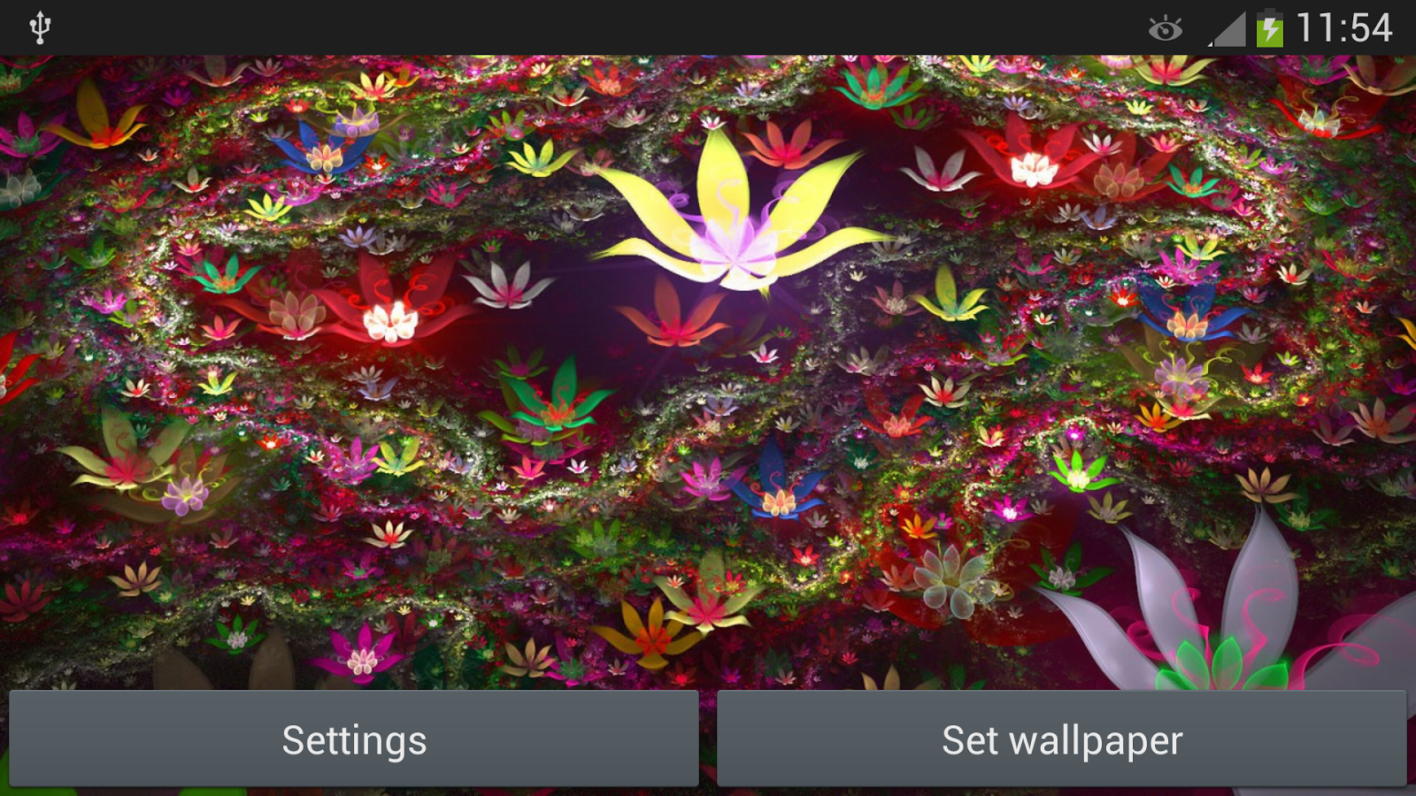 fantasy flowers live wallpaper android apps on google play