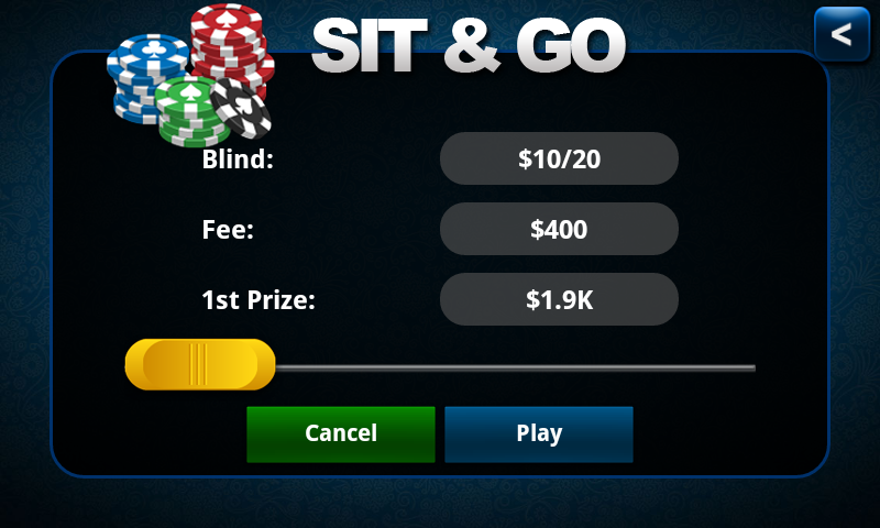 Poker KinG Blue-Texas Holdem - screenshot