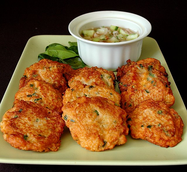 Thai Rice Fish Cakes Recipes