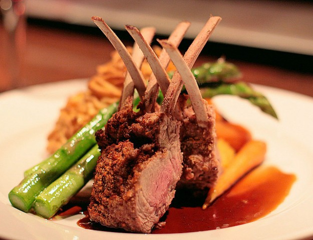 Berbere-Crusted Rack of Lamb Recipe