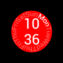 UCCW Clock Skin REVELution icon