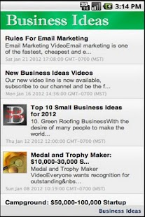 Business Ideas Lite - screenshot thumbnail