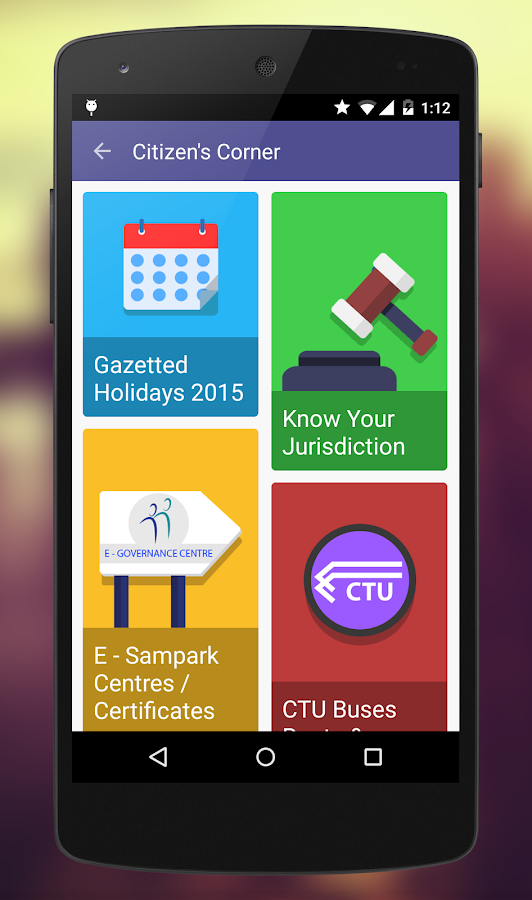 Smart Chandigarh- screenshot