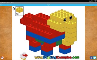 Screenshot of Big brick examples - Age 4
