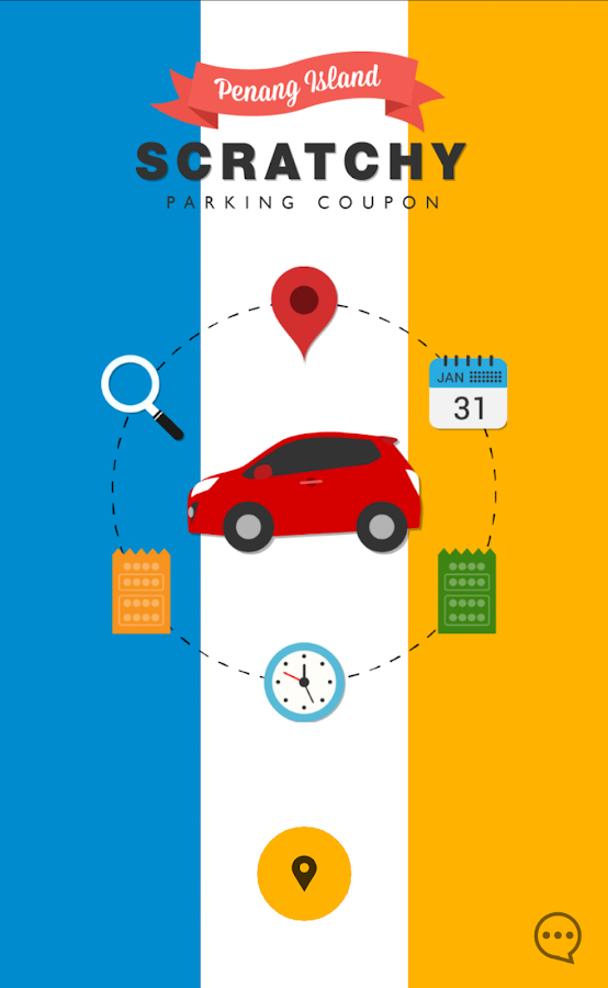 Penang daily parking coupon