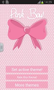 粉色蝴蝶結鍵盤
