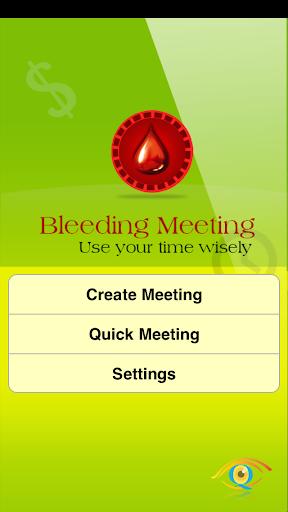 Bleeding Meeting