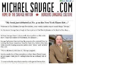 The Savage Nation Mobile Web - screenshot thumbnail
