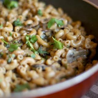 Toasted Mushroom Macaroni [Vegan].