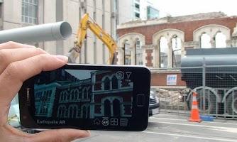 Screenshot of CityViewAR