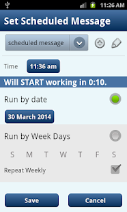 Autoresponder + SMS Scheduler - screenshot thumbnail