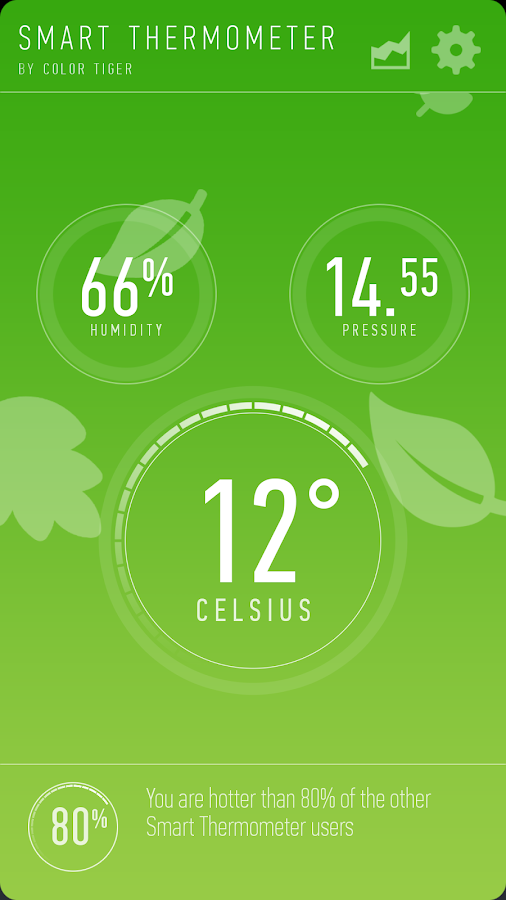 Smart Thermometer - screenshot