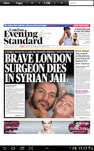 London Evening Standard - screenshot thumbnail