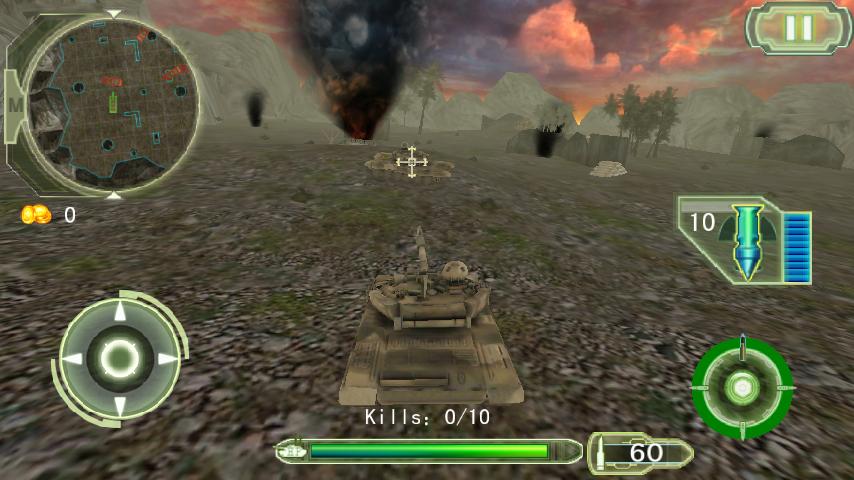 Crazy Fighting Tank 3D-FPS - screenshot