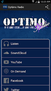 Optimo Radio screenshot 0