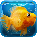 iQuarium – virtual fish logo