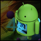 Jelly Bean 3D Theme for GO SMS icon