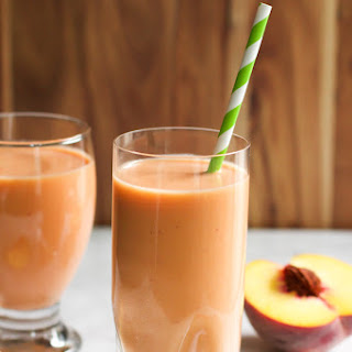 Peach Carrot Smoothie.