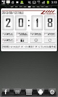 Screenshot of LDH mobile Clock