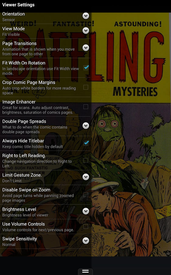 ComiCat (Comic Reader/Viewer)- screenshot