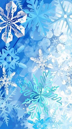 冬季雪波壁紙