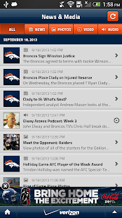 Denver Broncos Mobile - screenshot thumbnail