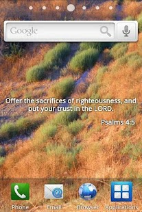 Bible Verses Live Wallpaper 2 - screenshot thumbnail