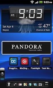 TSF Shell Theme Mexdroid HD- screenshot thumbnail