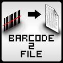 barcode2file logo