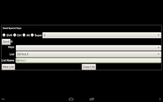 Screenshot of bVNC: Secure VNC Viewer