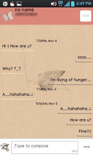 M.O.T SMS Theme