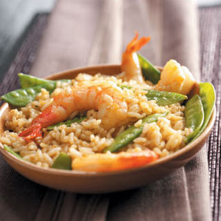 Cajun Shrimp and Rice.