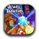 Jewel Towers Deluxe FREE logo