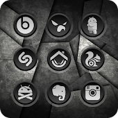S.I.R.I. BLACK - Icon Pack