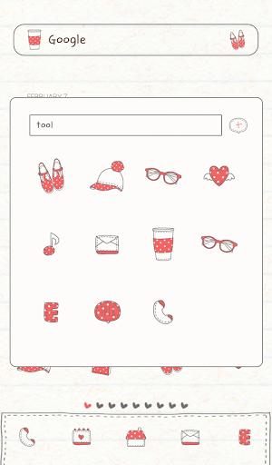 個人化必備APP下載|favorite red dodol theme 好玩app不花錢|綠色工廠好玩App