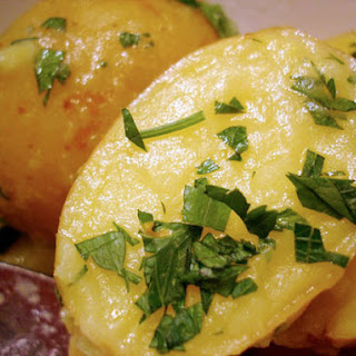 Magee's Roast Turkey, Parsley Potatoes, and Stewed Zucchini
