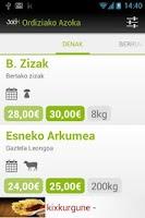Screenshot of Ordiziako Azoka