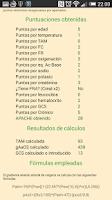Screenshot of APACHE II Calc