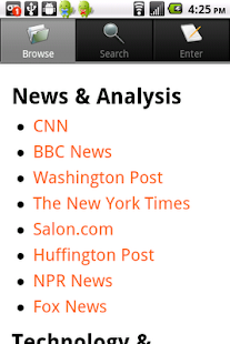 ThankThis News Reader- screenshot thumbnail
