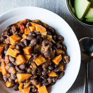 Smoky Black Bean and Sweet Potato Chili.
