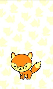 Baby Fox Live Wallpaper