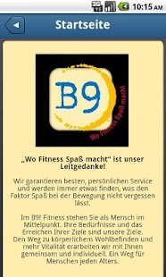 B9! Fitness - screenshot thumbnail