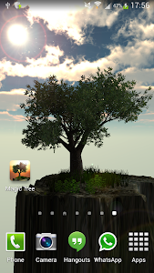 Magic Tree Live Wallpaper screenshot 4