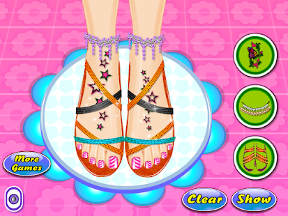 Beauty Salon Nail Games- screenshot thumbnail