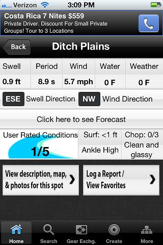 Surfwise Surf Forecast- screenshot