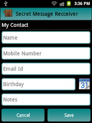 玩生產應用App|Secret Message Receiver免費|APP試玩